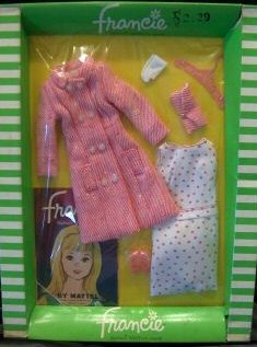 Vintage Francie Shoppin' Spree #1261 (1966)