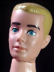 Vintage Ken Doll With Painted Hair