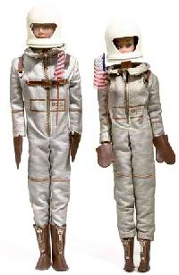 Vintage Barbie and Ken Astronaut