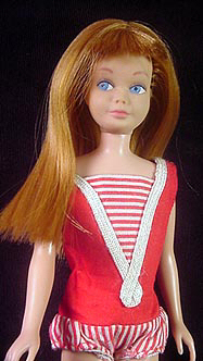 Vintage Straight Leg Skipper Doll