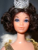 Walk Lively Miss America Barbie Doll