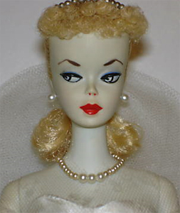 Number One Ponytail Vintage Barbie