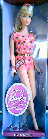 1968 Twist 'n Turn Barbie Doll