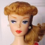 #7 Vintage Barbie Ponytail Doll