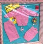 Vintage Barbie Knitting Pretty