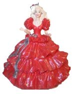 1996 1988 Happy Holidays Barbie Ornament