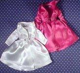 Vintage Barbie Fashion Pak Satin Coat