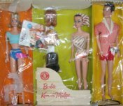 1963 Fashion Queen Barbie and Her Friends Gift Set