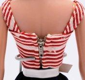 Cruise Stripes Back Zipper
