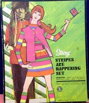 Stacey 1968 Stripes Are Happenin' Gift Set