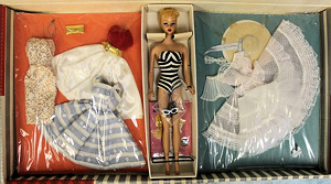 1960 Barbie Party Set 856 Gift Set