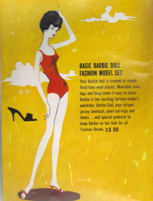 Bubblecut Barbie in 1962 Barbie Booklet