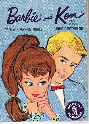 1962 Barbie Booklet