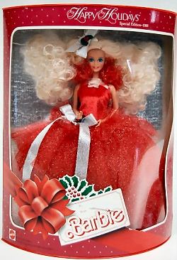 1988 Happy Holidays Barbie NRFB
