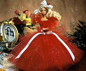 1988 Happy Holiday Barbie