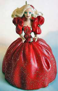 1993 Holiday Barbie Ornament