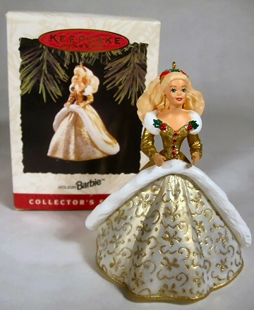 Barbie christmas ornaments complete list of barbie ornaments List of christmas ornaments