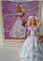 1995 Springtime Barbie Ornament