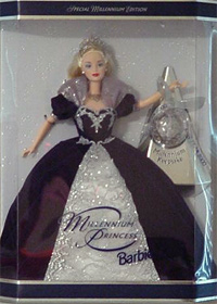 1999 Millennium Princess Barbie NRFB