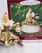 2000 Celebration Barbie Ornament