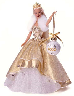 Holiday Barbie Dolls - Collectible and Pink Box