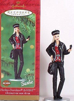 2000 Harley Davidson Barbie Ornament