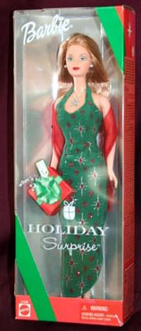 2000 Holiday Surprise Barbie