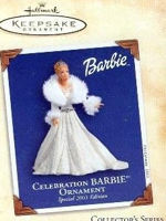 2003 Celebration Barbie Ornament
