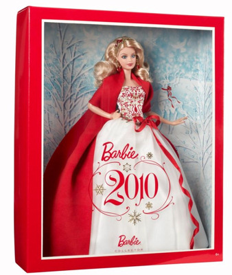 2010 Holiday Barbie Doll NRFB