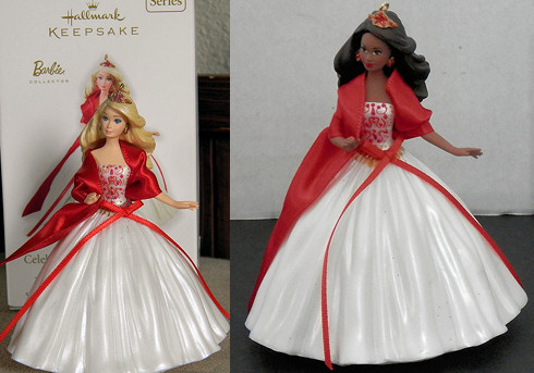 2010 Holiday Barbie Ornaments