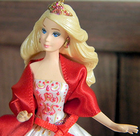2010 Holiday Barbie Ornament