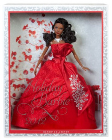 African-American 2012 Holiday Barbie NRFB