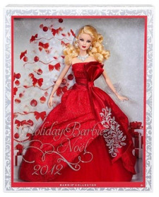 Blonde 2012 Holiday Barbie in box - nrfb
