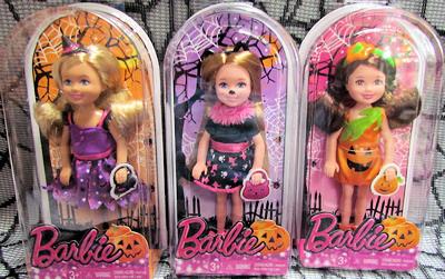 New 2014 Target Happy Halloween Barbie Doll ~ New!
