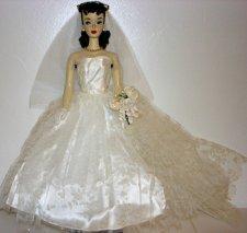#3 Barbie wearing Wedding Day Set