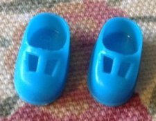 Telly Villde Blue T-strap Shoes