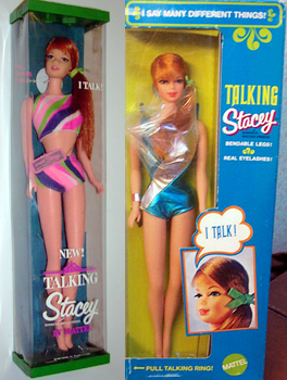 Talking Stacey Dolls