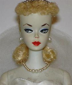 #1 Barbie Ponytail wearing Wedding Day Set