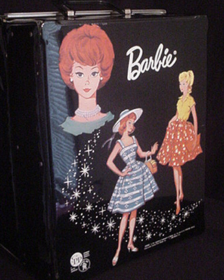 Vintage Barbie Doll Case