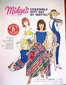 1964 Midge Ensemble Gift Set