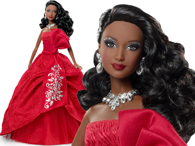 2012 African-American Holiday Barbie Doll