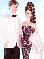 45th Anniversary Barbie and Ken Giftset