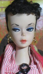 #1 Brunette Barbie ponytail