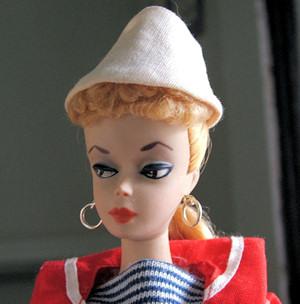 #1 Barbie wearing Resort Set