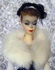 #1 Barbie wearing Gay Parisenne