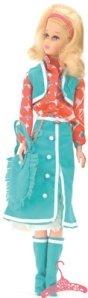 Francie wearing Buckaroo Blues