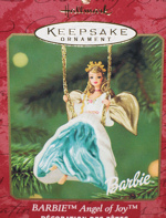 Angel of Joy Barbie Ornament