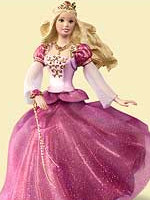 2006 Barbie as Genevieve Ornament