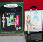 Barbie Travel Case & Mini Barbie Ornament