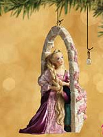Barbie as Rapunzel Ornament